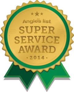 Angies list 2014 award